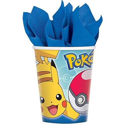 Bicchieri Pokémon 8 pezzi