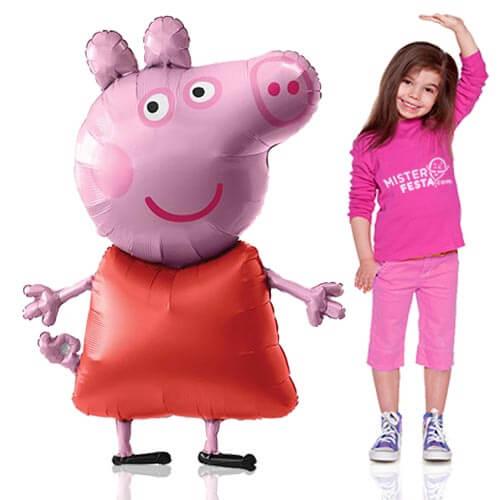 Palloncino Peppa Pig mascotte AirWalkers 1 pezzo