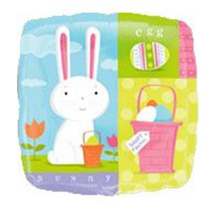 Palloncino Coniglio Pasqua 45 cm 1 pezzo