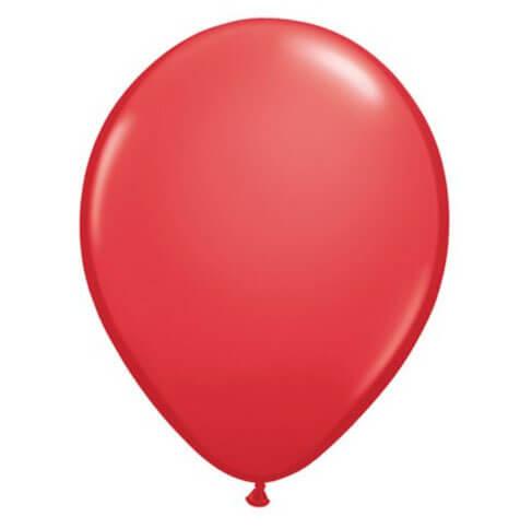 Palloncini rosso lattice 30 cm 20 pezzi