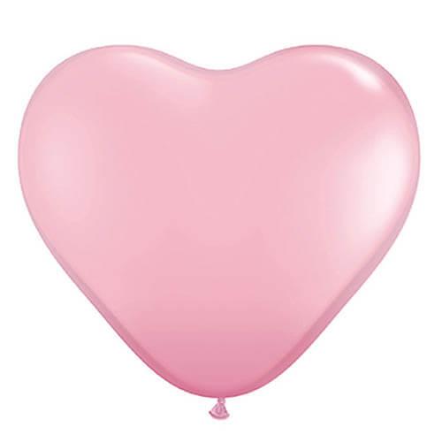 Palloncini cuore rosa pastello lattice 26 cm 20 pezzi