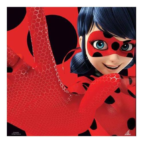 Tovaglioli Miraculous Ladybug 20 pezzi