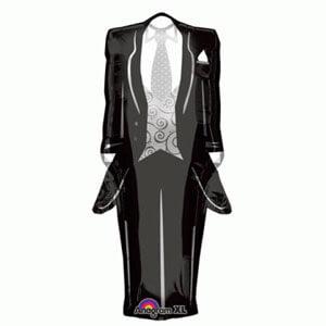 Palloncino abito sposo SuperShape 1 pezzo