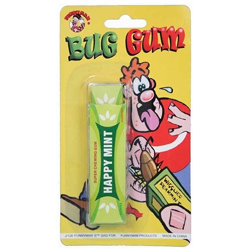 Pacchetto chewing gum con scarafaggio scherzo per feste 1 pezzo