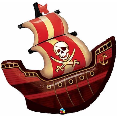 Palloncino veliero dei pirati UltraShape 1 pezzo