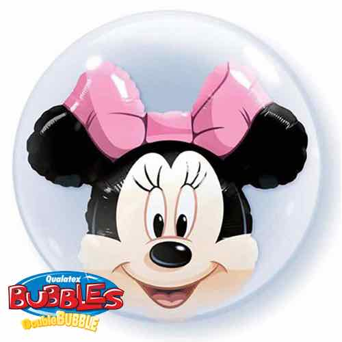 Palloncino Minnie Disney Double-Bubble 61 cm 1 pezzo