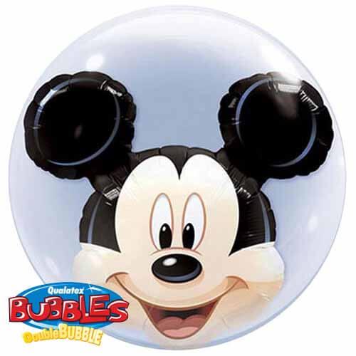 Palloncino Topolino Disney Double-Bubble 61 cm 1 pezzo