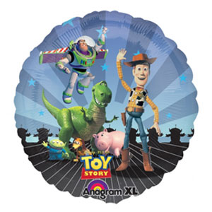 Palloncino Toy Story team 45 cm 1 pezzo