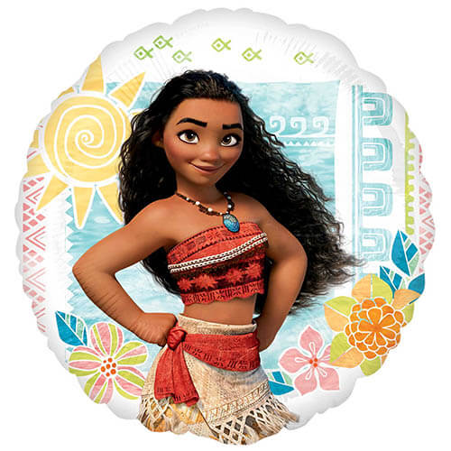 Palloncino Vaiana e Maui Oceania Disney 45 cm 1 pezzo