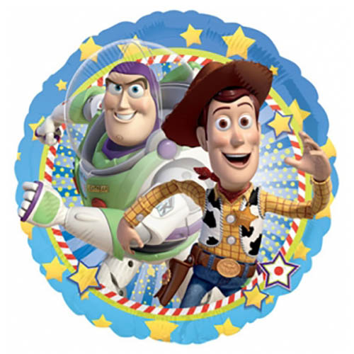 Palloncino Woody e Buzz Lightyear Toy Story 45 cm 1 pezzo