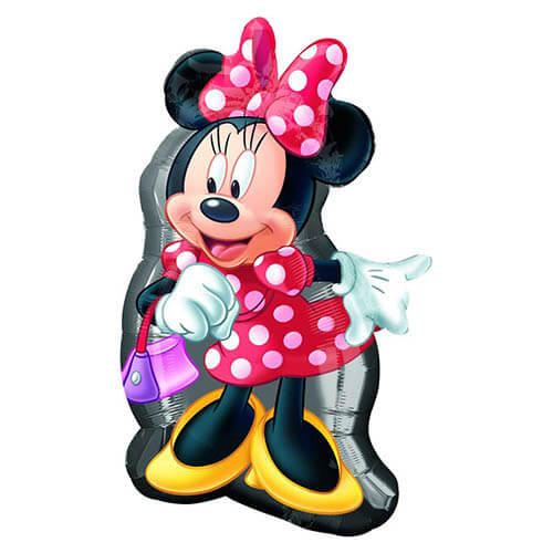 Palloncino Minnie Disney SuperShape 1 pezzo