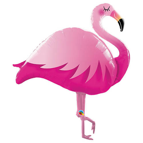 Palloncino Flamingo rosa UltraShape 1 pezzo
