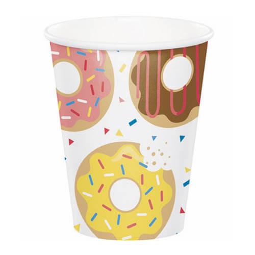 Bicchieri Donuts 8 pezzi