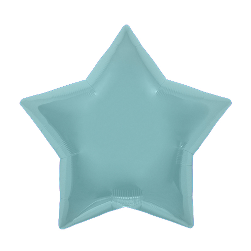 Palloncino stella celeste pastello 48 cm 1 pezzo