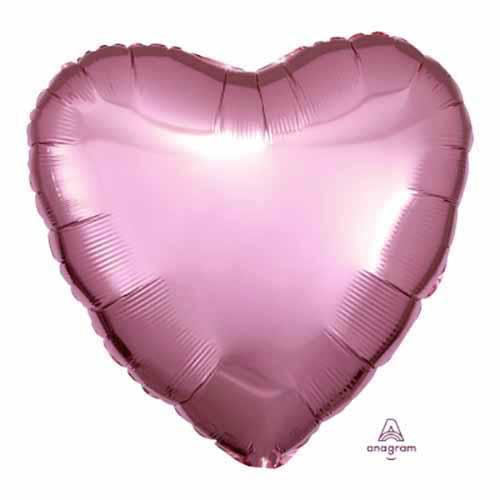 Palloncino cuore rosa pastello 43 cm 1 pezzo