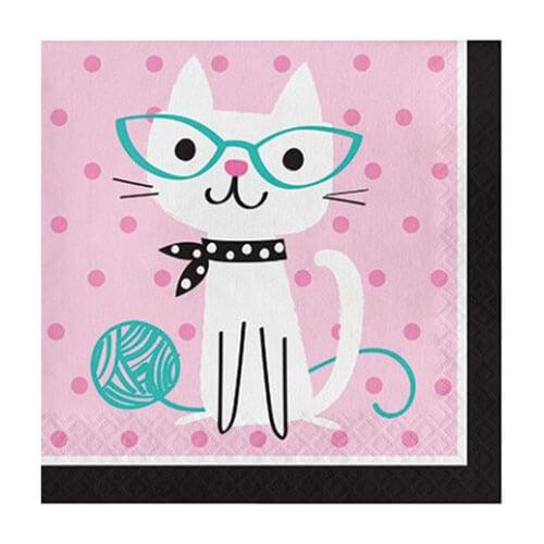 Tovaglioli Gatto Miao Miao 16 pezzi