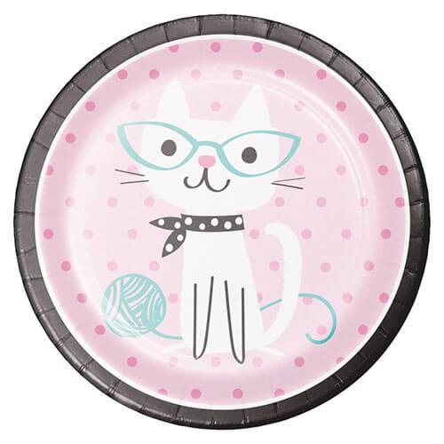 Piatti Gatto Miao Miao grandi 8 pezzi