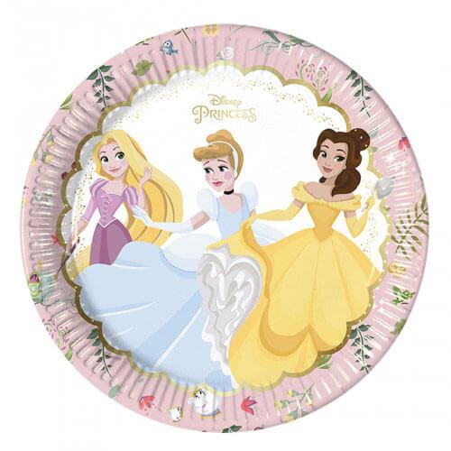 Piatti Principesse Disney Premium grandi 8 pezzi