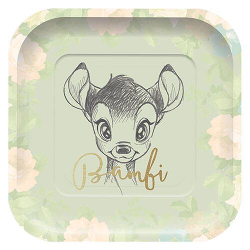 Piatti Bambi Disney Premium grandi 8 pezzi