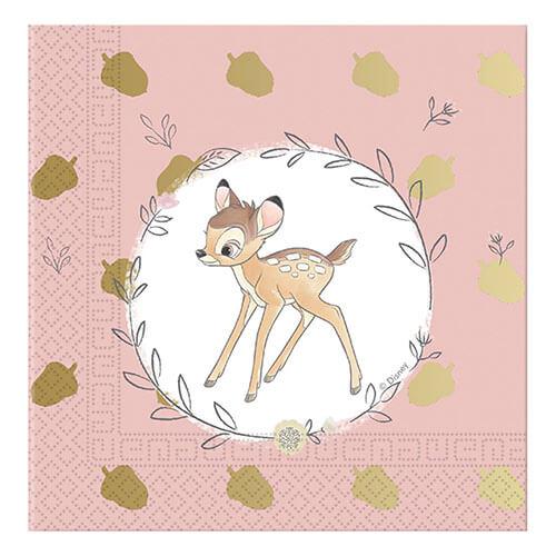 Tovaglioli Bambi Disney Premium 20 pezzi