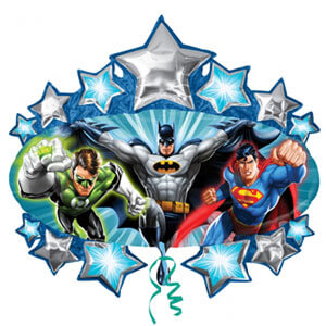 Palloncino Batman Justice League UltraShape 1 pezzo