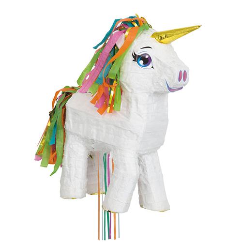 Pignatta unicorno arcobaleno pull-out 1 pezzo