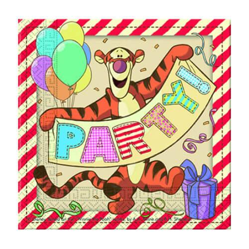 Tovaglioli Winnie the Pooh alfabeto 20 pezzi