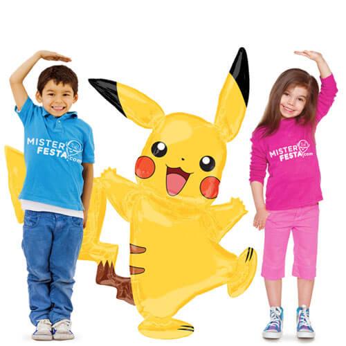 Palloncino Pikachu Pokémon mascotte AirWalkers 1 pezzo