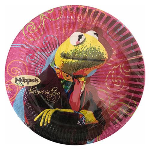 Piatti Muppets Disney grandi 8 pezzi