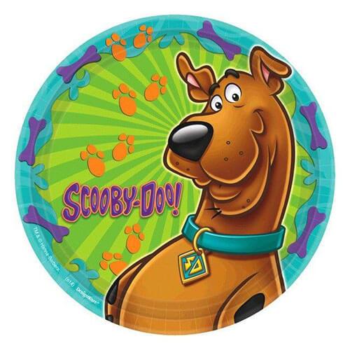 Piatti Scooby-Doo grandi 8 pezzi