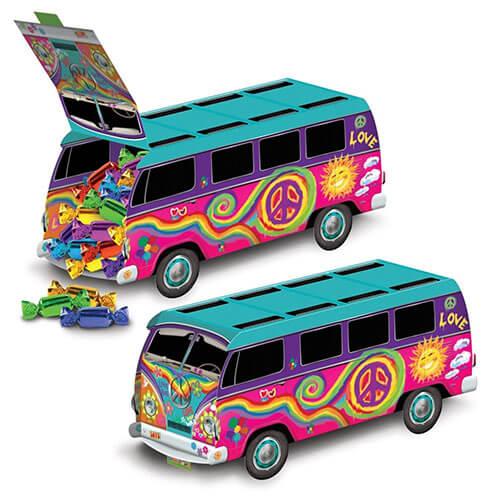 Centrotavola Bus anni 60 Scooby-Doo 1 pezzo