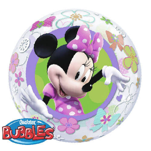 Palloncino Minnie Disney Bubble 56 cm 1 pezzo