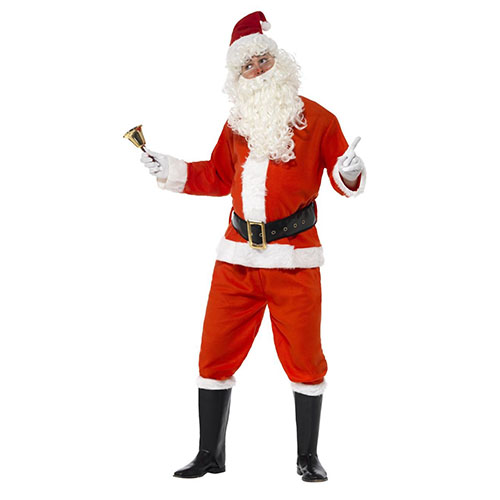 Costume Babbo Natale adulto TG. M 1 pezzo
