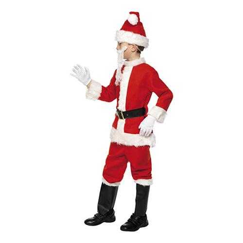 Costume Babbo Natale bambino 3 - 5 anni 1 pezzo