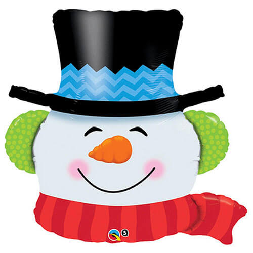 Palloncino pupazzo di neve Natale UltraShape 1 pezzo