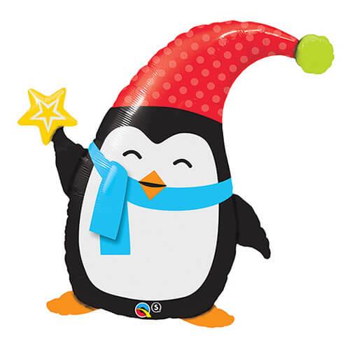 Palloncino Elfin il pinguino di Natale UltraShape 1 pezzo