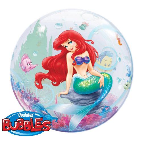 Palloncino Ariel la sirenetta Disney Bubble 56 cm 1 pezzo