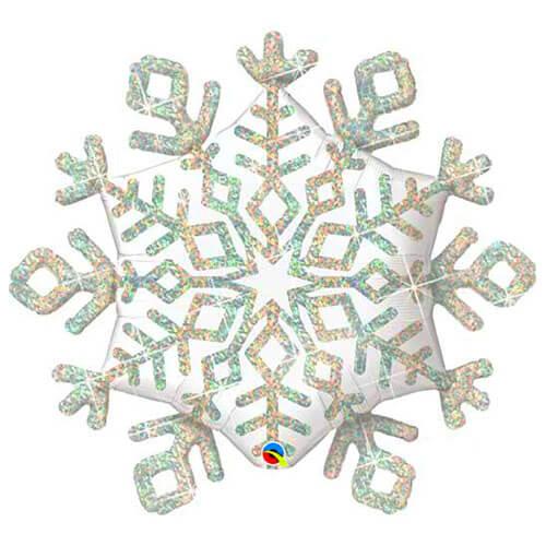 Palloncino stella di ghiaccio di Natale UltraShape 1 pezzo
