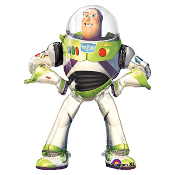 Palloncino Buzz Lightyear Toy Story Disney mascotte AirWalkers 1 pezzo