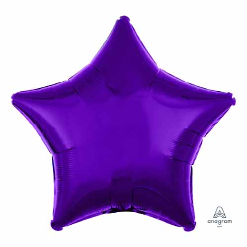 Palloncino stella viola 48 cm 1 pezzo