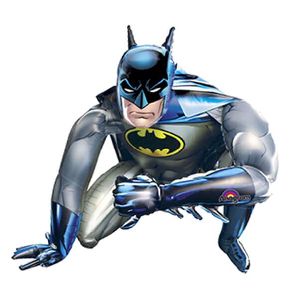 Palloncino Batman mascotte AirWalkers 1 pezzo