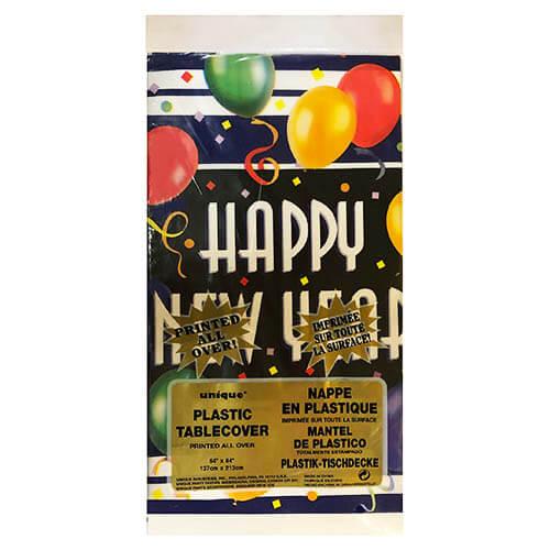 Tovaglia Capodanno scritta Happy New Year 1 pezzo