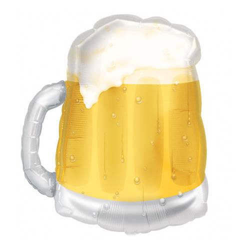 Palloncino pinta di birra SuperShape 1 pezzo