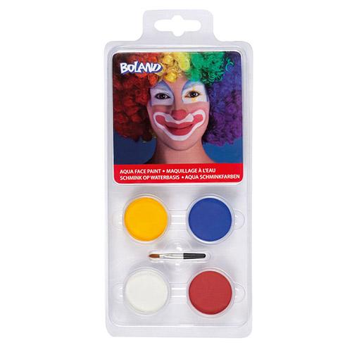 Set make-up Clown Circo 5 pezzi