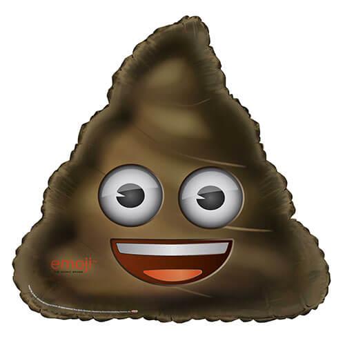 Palloncino cacca emoji UltraShape 1 pezzo
