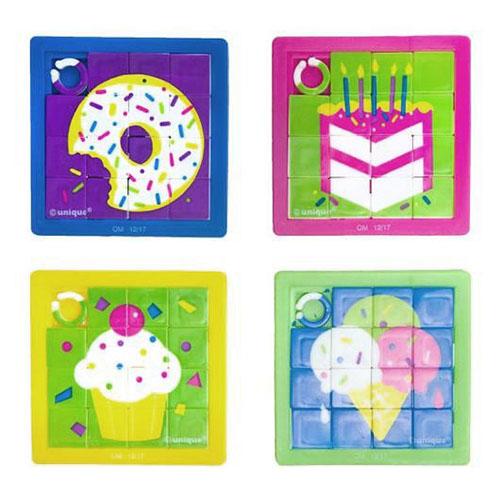 Puzzle dolcetti assortiti 10  pezzi