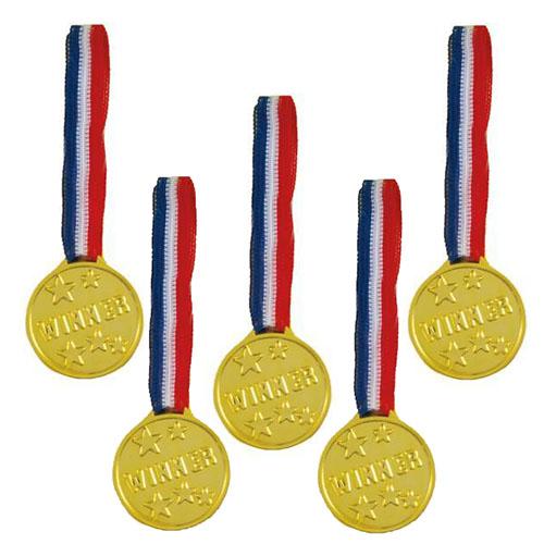 Medaglie oro vittoria 5 pezzi