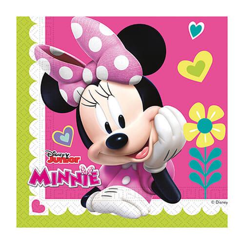 Tovaglioli Minnie Disney Junior Per Le Tue Feste Di Compleanno