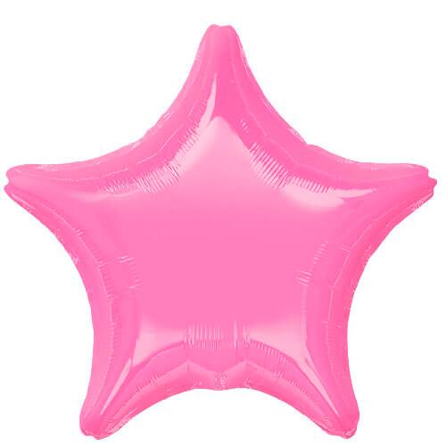 Palloncino stella rosa 48 cm 1 pezzo
