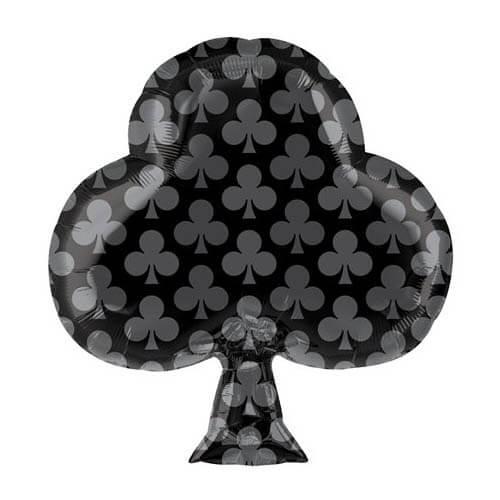 Palloncino fiori carte da gioco linea Card Night 45 cm 1 pezzo